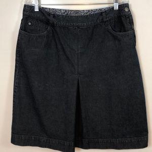 Classic Denim Skirt by Liz Claiborne | sz 14